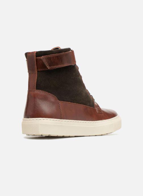 Sneakers Mr SARENZA Slinview Marrone immagine frontale
