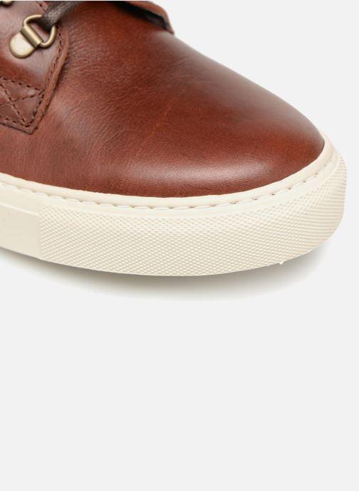 Sneaker Mr SARENZA Slinview braun ansicht von links