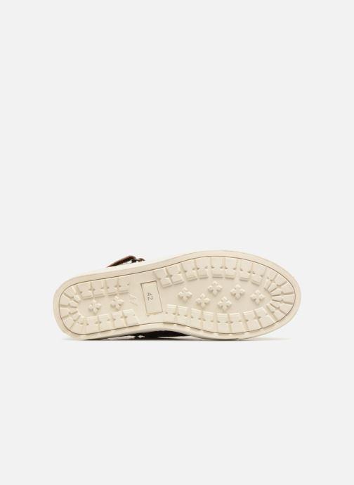 Sneaker Mr SARENZA Slinview braun ansicht von oben