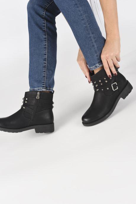Bottines et boots Refresh 64724 Noir vue bas / vue portée sac