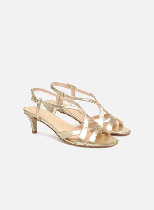Sandales et nu-pieds Apologie 40460 Or et bronze vue 3/4