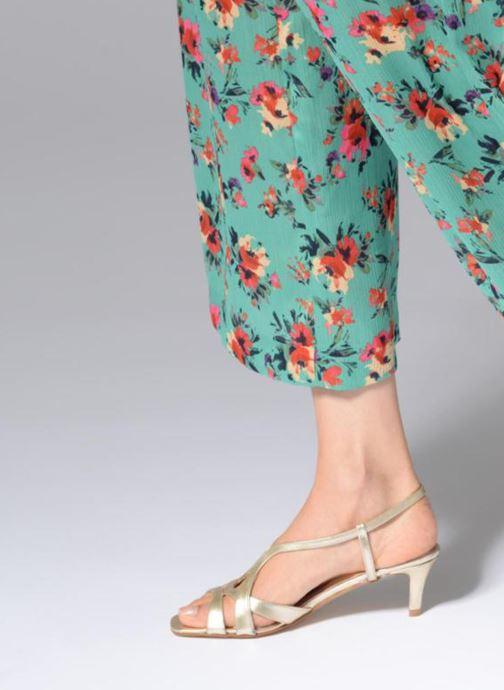 Sandales et nu-pieds Apologie 40460 Or et bronze vue bas / vue portée sac