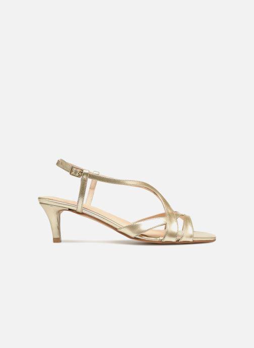 Sandales et nu-pieds Apologie 40460 Or et bronze vue derrière