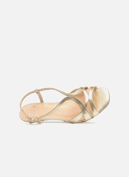 Sandales et nu-pieds Apologie 40460 Or et bronze vue gauche