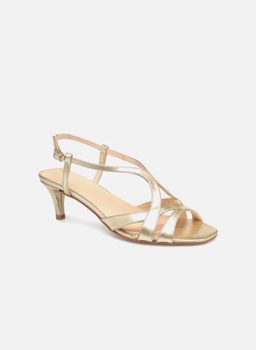 Sandales et nu-pieds Apologie 40460 Or et bronze vue détail/paire