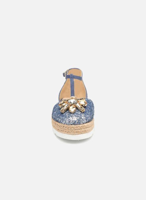 Espadrilles Apologie 40965 Bleu vue portées chaussures