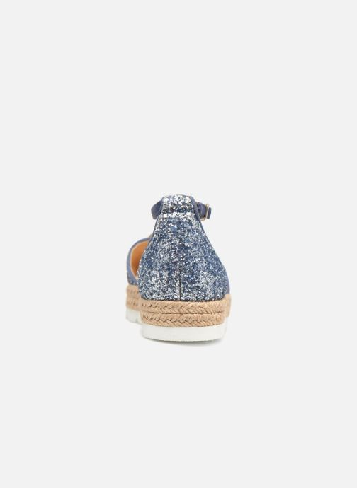 Espadrilles Apologie 40965 Blue view from the right