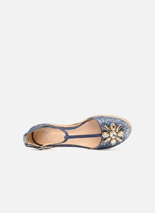 Espadrilles Apologie 40965 Blue view from the left