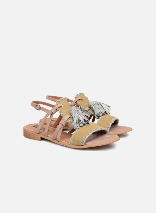 Sandales et nu-pieds Apologie 55186 Multicolore vue 3/4