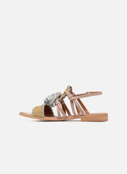 Sandales et nu-pieds Apologie 55186 Multicolore vue face