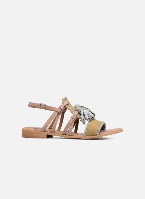 Sandales et nu-pieds Apologie 55186 Multicolore vue derrière