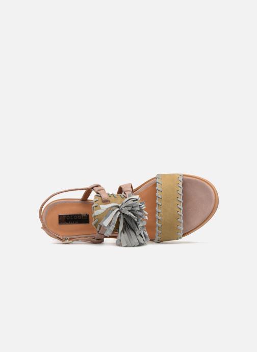 Sandales et nu-pieds Apologie 55186 Multicolore vue gauche