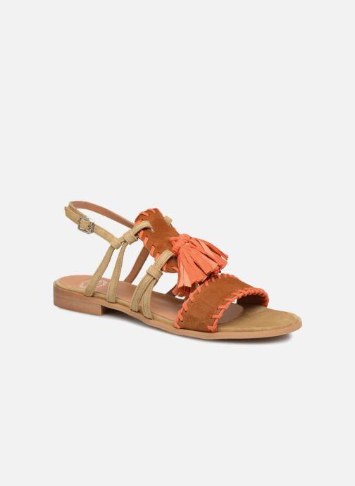 Sandales et nu-pieds Apologie 55186 Orange vue détail/paire