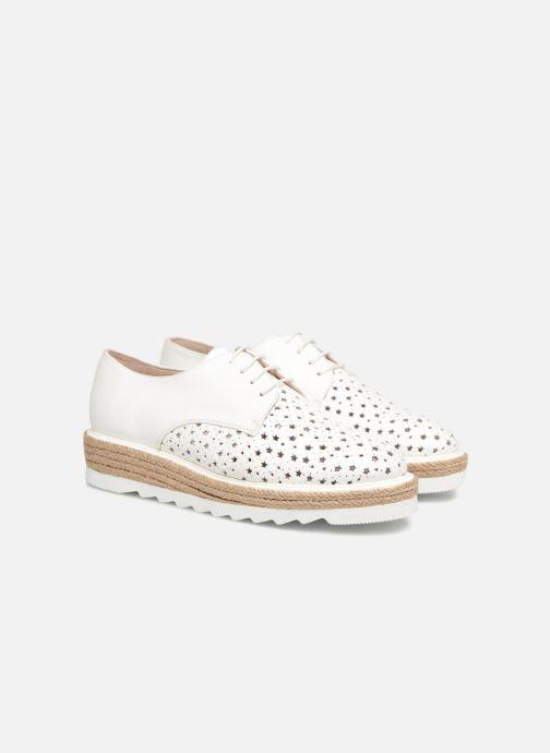 Chaussures à lacets Apologie 70156 Blanc vue 3/4