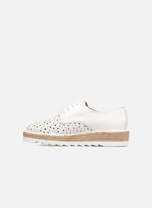 Chaussures à lacets Apologie 70156 Blanc vue face