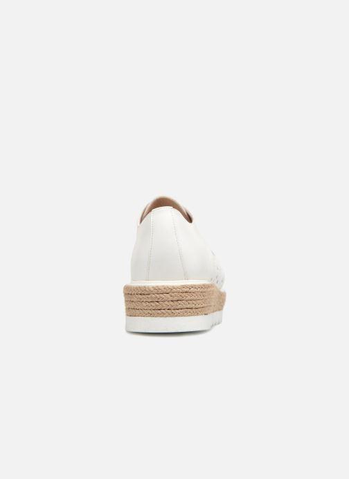 Zapatos con cordones Apologie 70156 Blanco vista lateral derecha