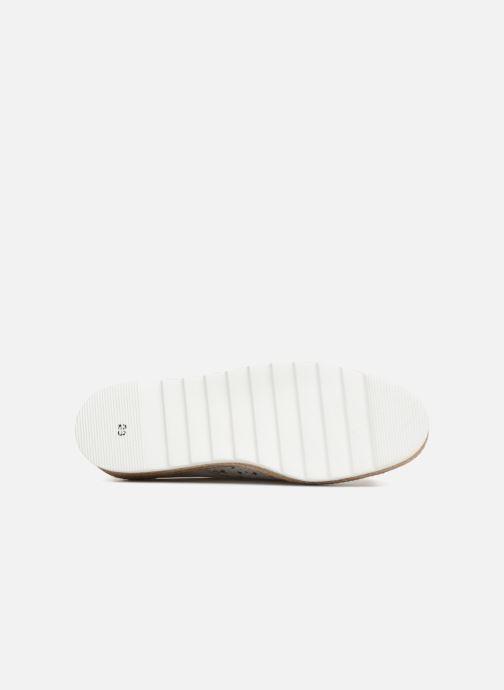 Chaussures à lacets Apologie 70156 Blanc vue haut