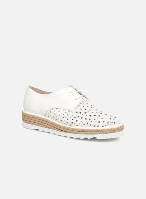 Lace-up shoes Apologie 70156 White detailed view/ Pair view