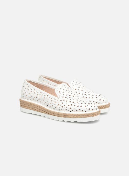 Mocasines Apologie 70158 Blanco vista 3/4
