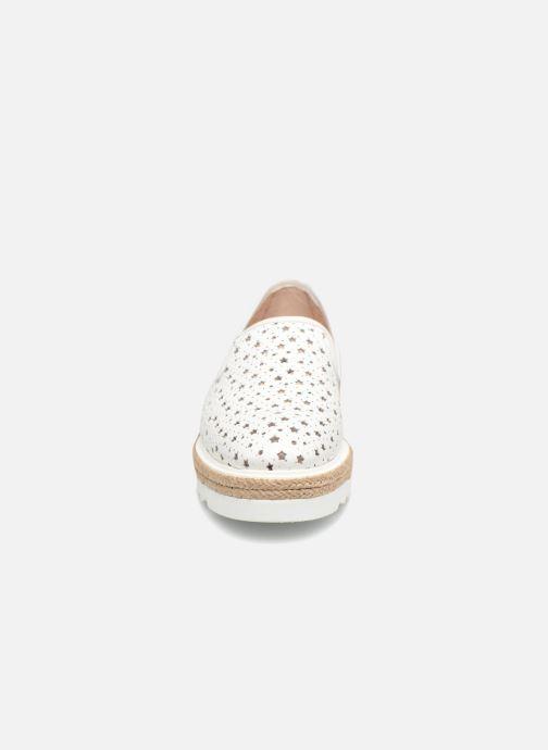 Mocassins Apologie 70158 Blanc vue portées chaussures