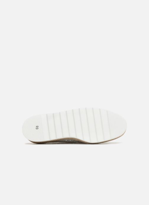 Mocasines Apologie 70158 Blanco vista de arriba