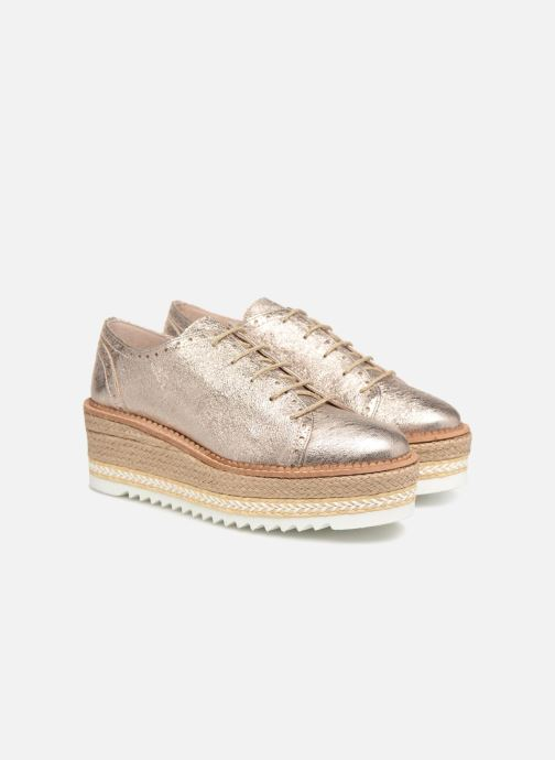 Zapatos con cordones Apologie 70579 Rosa vista 3/4