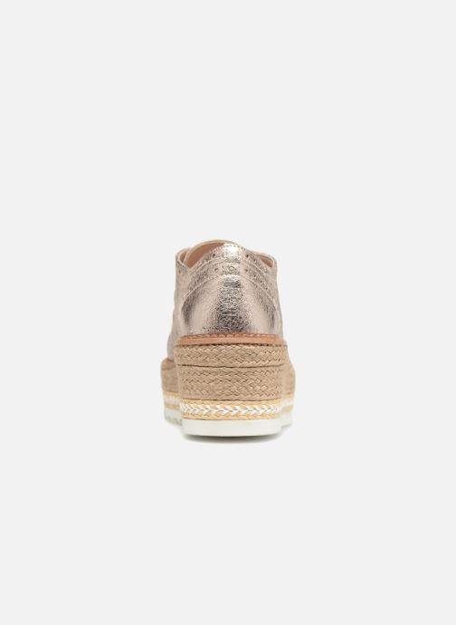Zapatos con cordones Apologie 70579 Rosa vista lateral derecha
