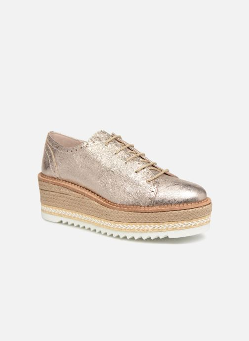 Zapatos con cordones Apologie 70579 Rosa vista de detalle / par