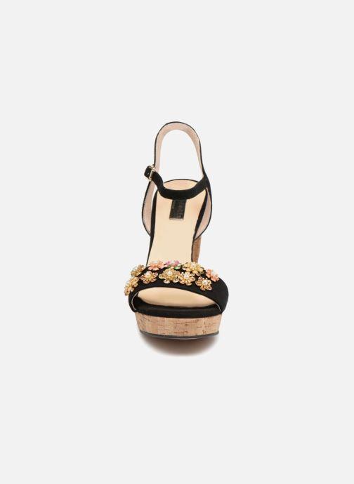 Sandales et nu-pieds Apologie 70597 Noir vue portées chaussures