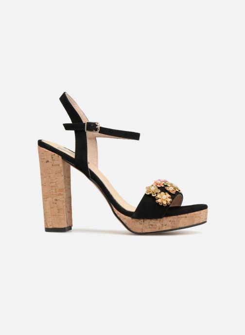 Sandales et nu-pieds Apologie 70597 Noir vue derrière