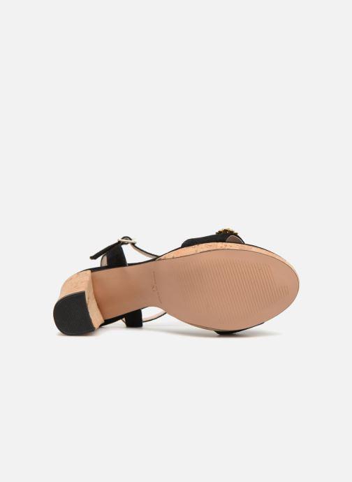 Sandales et nu-pieds Apologie 70597 Noir vue haut