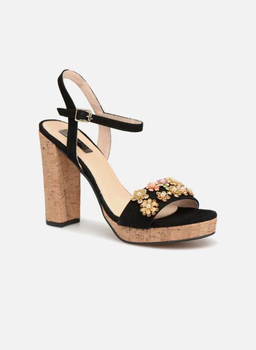 Sandales et nu-pieds Apologie 70597 Noir vue détail/paire