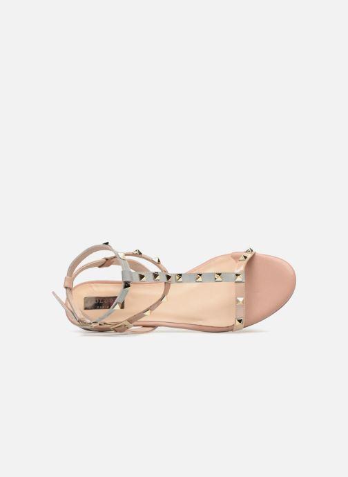 Sandales et nu-pieds Apologie 70850 Multicolore vue gauche