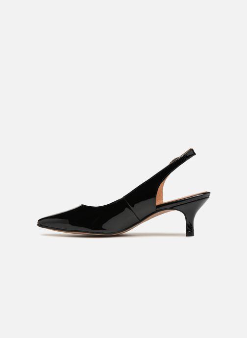 Zapatos de tacón Apologie DESTALONADO SHI Negro vista de frente