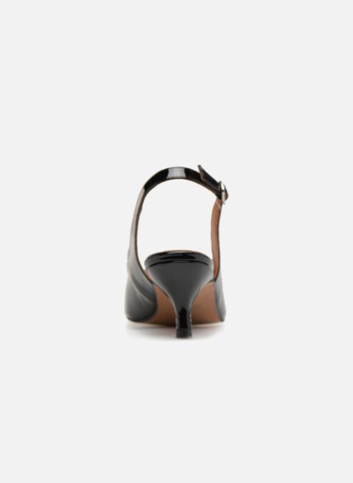 Zapatos de tacón Apologie DESTALONADO SHI Negro vista lateral derecha