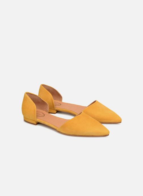 Bailarinas Apologie PALA TALON SHE Amarillo vista 3/4