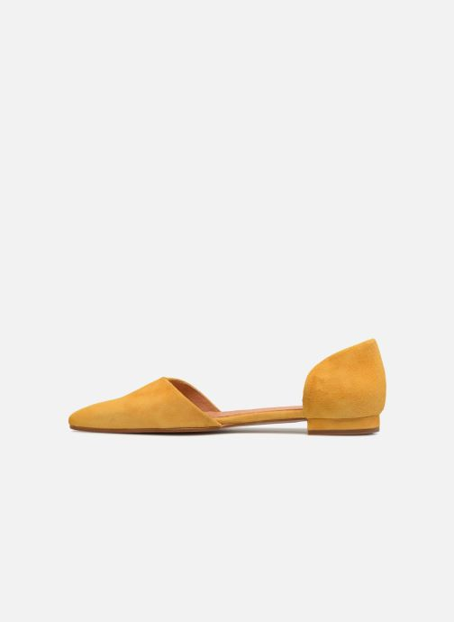 Ballerines Apologie PALA TALON SHE Jaune vue face