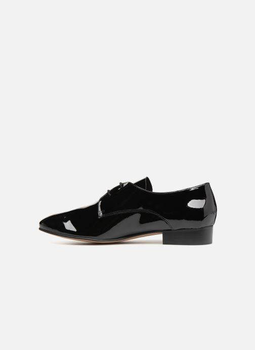 Lace-up shoes Apologie BAILARINA BED Black front view
