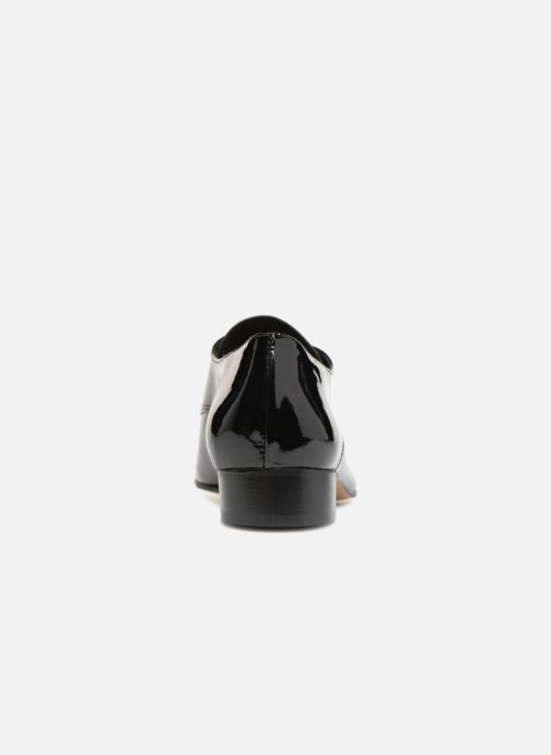 Chaussures à lacets Apologie BAILARINA BED Noir vue droite