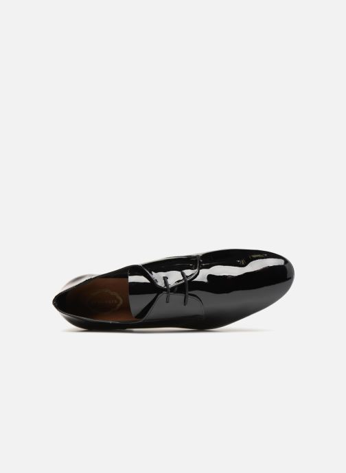 Lace-up shoes Apologie BAILARINA BED Black view from the left