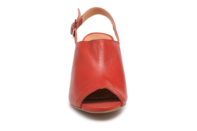 Escarpins Apologie SANDALIA LOVE Rouge vue portées chaussures