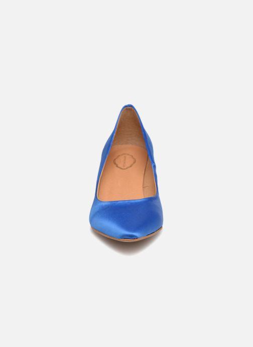 Escarpins Apologie SALON SHIKA Bleu vue portées chaussures