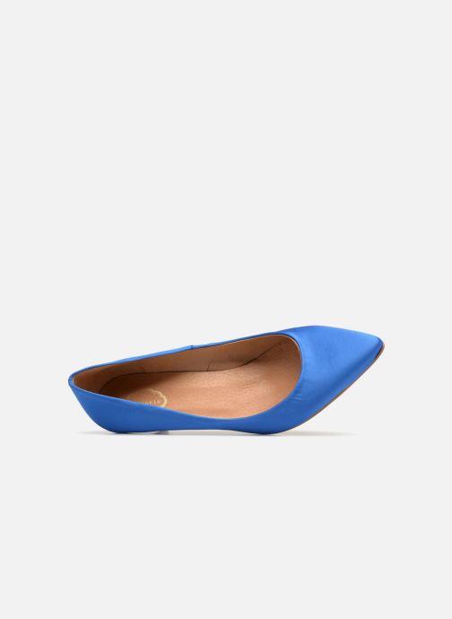 Zapatos de tacón Apologie SALON SHIKA Azul vista lateral izquierda