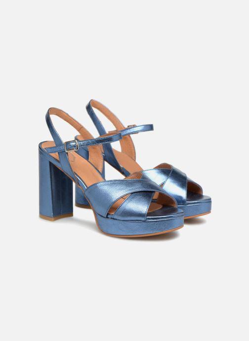 Sandales et nu-pieds Apologie CRUCE Bleu vue 3/4