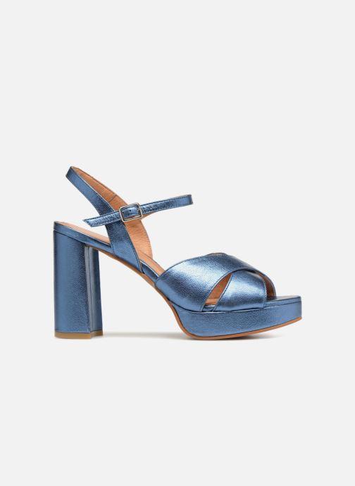 Sandales et nu-pieds Apologie CRUCE Bleu vue derrière