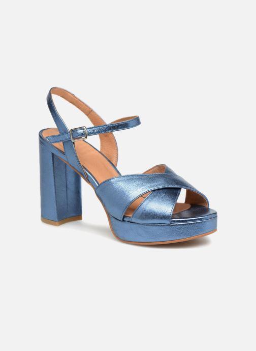 Sandales et nu-pieds Apologie CRUCE Bleu vue détail/paire
