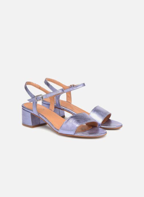 Sandales et nu-pieds Apologie SANDALIA PIERRE Violet vue 3/4