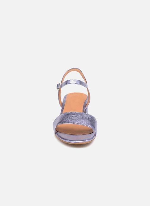 Sandales et nu-pieds Apologie SANDALIA PIERRE Violet vue portées chaussures
