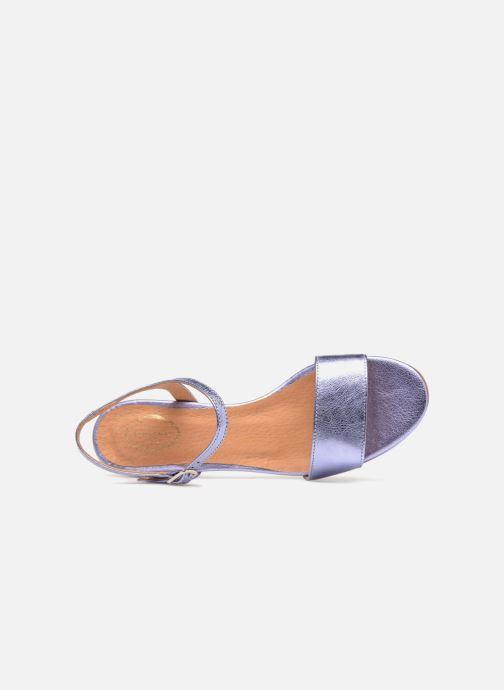 Sandales et nu-pieds Apologie SANDALIA PIERRE Violet vue gauche