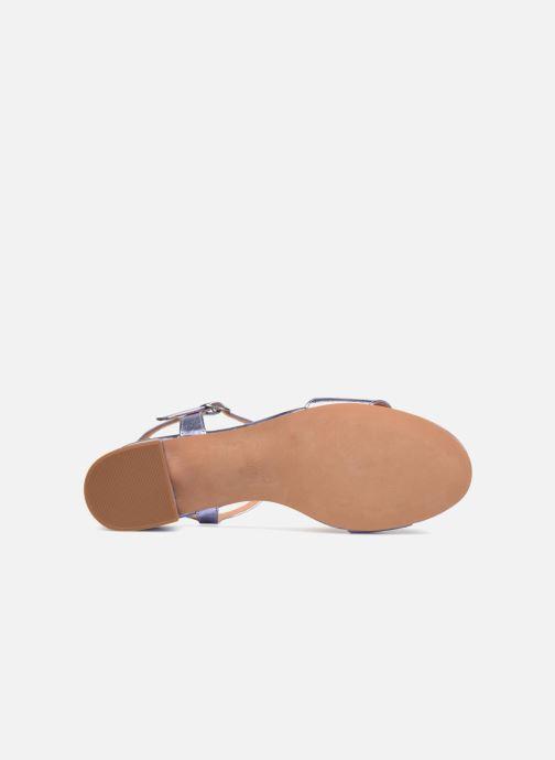 Sandales et nu-pieds Apologie SANDALIA PIERRE Violet vue haut